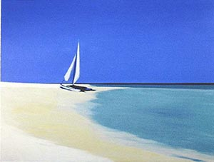 Blue Horizon Sailing Away...